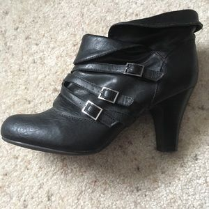 Buckled Decree Booties